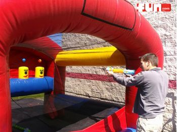 Air Shot Nerf Shooting Inflatable Rental