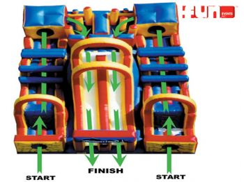 Adrenaline Rush - Obstacle Inflatable