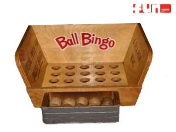 Ball Bingo Toss Carnival Game