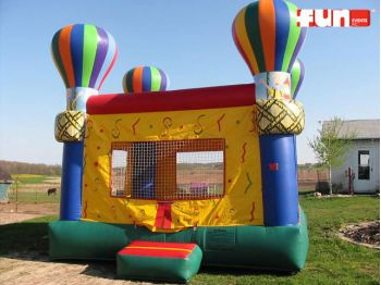 Hot Air Balloon Inflatable Bounce