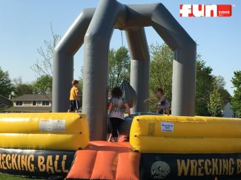 Inflatable Wrecking Ball - Rental