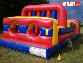 Obstacle Course Inflatable - 7 Element