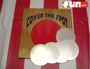 Cover The Spot Midway Carnival Game Rental