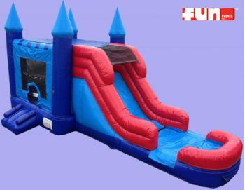 Combo Bounce - Castle Slide - Wet / Dry