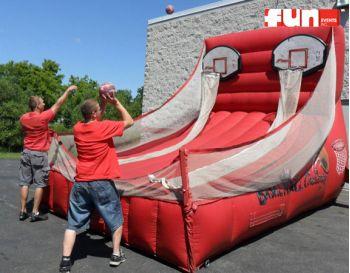 Inflatable Basketball Free Throw Game