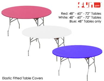 Round Table - Round Fitted Cover