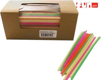 Plastic Snow Cone Stir Straws