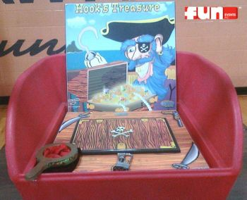 Hooks Treasure Midway Carnival Game Rental