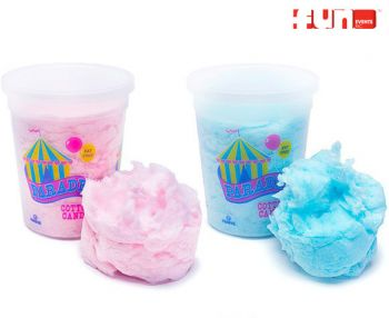 Cotton Candy - Plastic Container