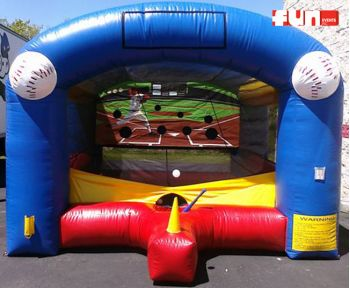 Homerun Baseball Batting Inflatable Rental