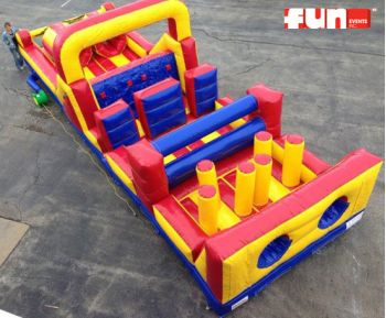 Sprinter - Inflatable Obstacle Course Rental