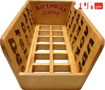Birthday Month Carnival Midway Game