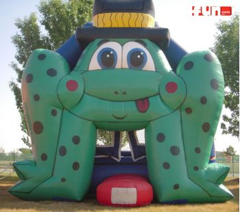 Giant Frog Bounce House