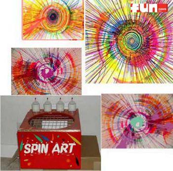 Spin Art - Machine Rental
