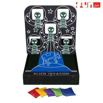 Alien Invasion Bean Bag Toss Carnival Game