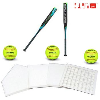 Softball Equipment Rental