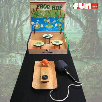 Frog Hop Midway Carnival Game Rental