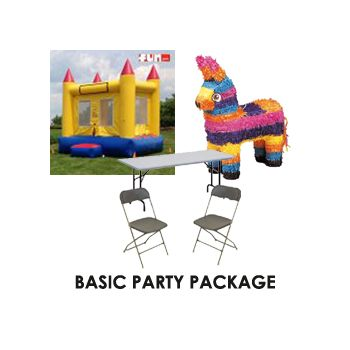 Basic - Birthday Party Package - $225