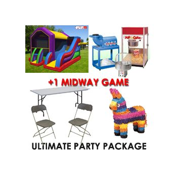 Ultimate - Birthday Party Package - $450