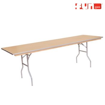 Eight Foot Table Rental