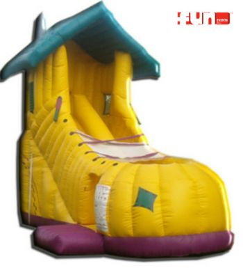 Inflatable Shoe Slide