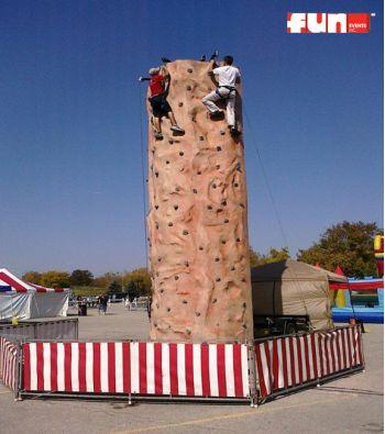 Extreme Climbing Rock Wall Rental