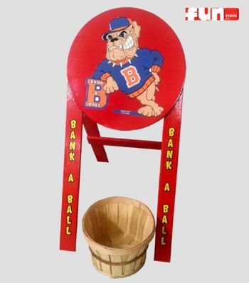 Bank a Ball Carnival Midway Game Rental