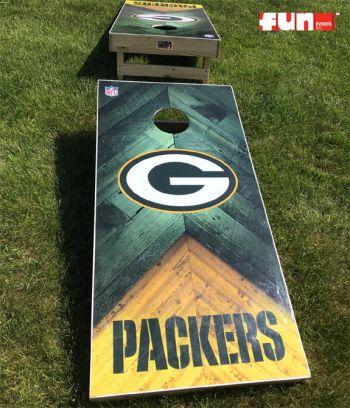 Baggo Bean Bag Toss - Green Bay Packers