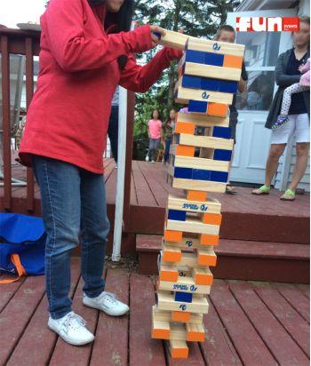 Giant Jenga - Game Rental Wisconsin