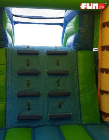 Tropical Tiki Rock Wall Bounce
