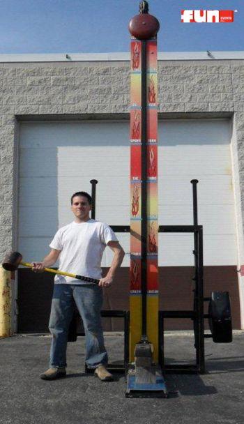 High Striker Bell Hammer Strength Game