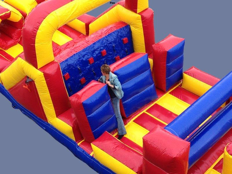 Sprinter Obstacle Course Inflatable Rental Milwaukee